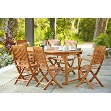 hampton bay belleville 7 piece patio dining set t138 c129 outdoor decorative