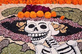 all about the dia de los muertos foods in  day of the dead figure