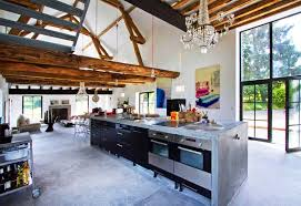 Drool Over This Stunning Burgundy Barn Renovation By Josephine Magnificent Barn Interior Design