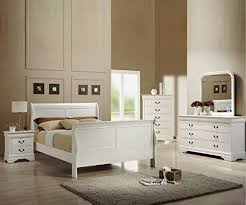 Louis Philippe Bedroom Furniture Annaghmore Louis Philippe Louis Philippe White Finish Bed Frame