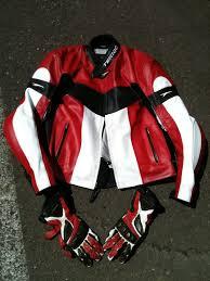 teknic lightning leather jacket size 46 chicane gloves l