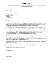 Cover Letter Opening Salutatio