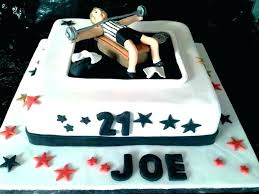 Simple Birthday Cake Finished Diy Birthday Cake For Him