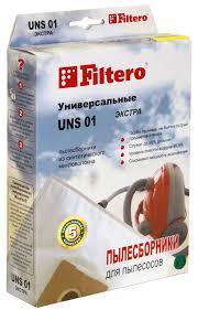 <b>Мешок</b>-<b>пылесборник Filtero UNS 01</b> Экстра, синтетический, 3 шт ...