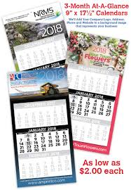 At A Glance 3 Month Calendar 3 Month At A Glance Custom Promotional Calendar Apc Solutions