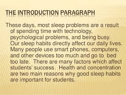 Introduction To Psychology Essay An Introduction To Sleep Disorders And Somnambulism