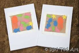 Sand Card Kids Get Crafty Sand Art Crafts Contact Paper Card Making