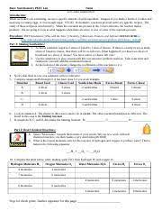 Basic stoichiometry phet post lab answer key keywords: Basic Stoichiometry Phet Lab 2015 Skjf30 Docx Basic Stoichiometry Phet Lab Name Let S Make Sandwiches Introduction When We Bake Cook Something We Use Course Hero