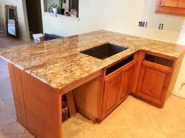 Kitchen Remodel Granite Countertops Geriba Gold Granite Neutral Rustic Kitchen Remodel Granite