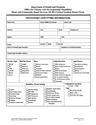 Clinical Incident Form Fill Online Printable Fillable