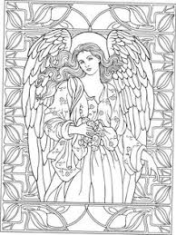 Small Picture Beautiful Angel coloring page Adult ColouringFairiesAngels