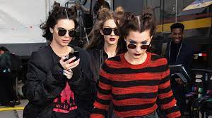 Hollands trots: Kendall Jenner was in ...