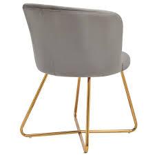Duhome 2er Set Esszimmerstuhl Aus Stoff Samt Grau Pink Polsterstuhl Retro Design Stuhl Mit Rückenlehne Besucherstuhl Metallbeine Farbauswahl 8076x