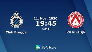 Club Brugge KV Kortrijk live uitslagen - SofaScore