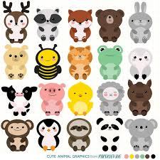cute zoo animals clipart.  Animals Cute Clipart Zoo Animal Set Mega Pack Picture Download With Zoo Animals Clipart M