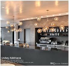lindsey adelman lighting 5 globe glass branching bubble modern light re