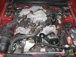 1999 Ford Mustang V6 Convertible 3.8 Liter OHV 12-Valve V6 Engine ...