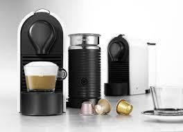 Nespresso U Machine Nespresso Umilk Features Attached Aeroccino And Sleek Design
