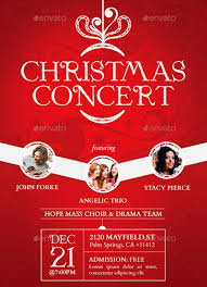 christmas poster templates psd eps png vector christmas concert poster template