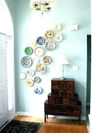 decorative wall plates hanging on absolutely design hampton bay switch georgian aged bronze