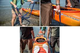 boats can get heavy when they re loaded down with gear particularly for longer trips make your own haul handles with some pvc and a kayak strap then