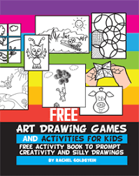 free pdf drawing games and activity book for kids