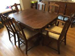 9 Piece Antique Dining Room Set