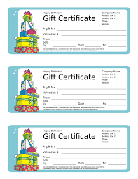 gift certificate template printable gift certificates in birthday gift certificate template 02