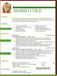 The Best Resume Format Delectable Sample Of Formal Resume Best Resume Format Template Resume Format