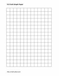 Math Grid Paper Template