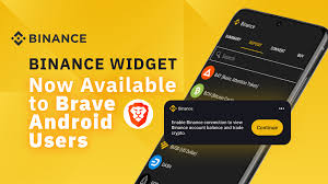 Check out realtime bitcoin exchange rate with a simple click. Binance Widget Now Available To Brave Android Users Binance Blog