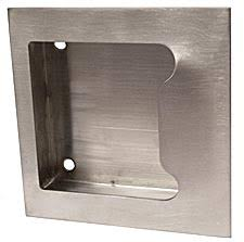 Hager 27N-US32D - Stainless Steel 5in.x5in. ADA Compliant Flush ...