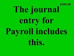 What Is A Payroll Register Source Document Deadlines Payroll Terms Grab Bag Ppt Download