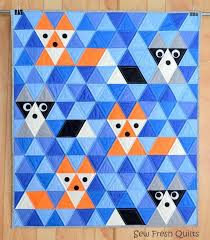Best 25+ Patchwork quilt patterns ideas on Pinterest | Patchwork ... & Fox and raccoon Quilt pattern by Lorna McMahon. Quilting TutorialsQuilting  PatternsPatchwork ... Adamdwight.com