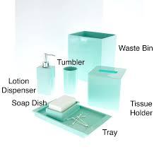 wondrous blue glass bathroom accessories parsmfgcom