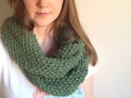 Infinity Scarf Pattern Knit In The Round