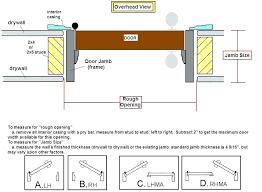rough openings for garage doors standard door opening garage door garage door rough opening