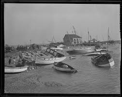boats ashore at savin hill yacht club, dorchester, hurricane of 38 Wiring Diagram Symbols at Dorchest Wiring Diagram