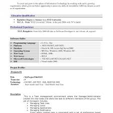 How To Write A Resume For Experienced How To Write Resume For Experienced Person Staggering Pmp Mind 17