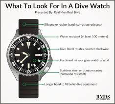 5 watch styles every man should know men s guide to types of dive watch