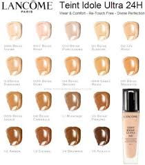 Lancome Absolue Foundation Color Chart