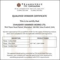 Certifications Product System Certification Chw Forge