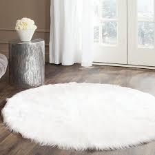 large fur rug natural sheepskin rug round area rugs large white fur rug runner rugs area