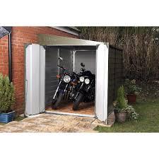 d metal lean to garage shed com