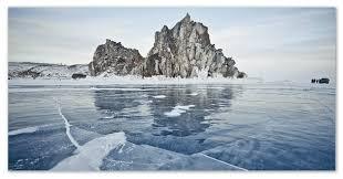 Озеро Байкал сообщение запасы пресной воды природа и обитатели  Толща льда
