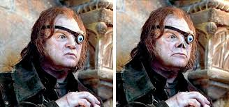6 alastor moody disfigured and almost without a nose