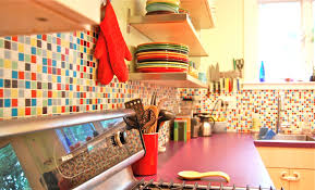 Colorful Kitchen Backsplashes Kitchen Tasty Exquisite 11 Top Kitchen Wallpaper You Must Read
