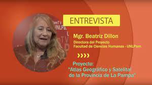 """Proyecto de investigación """"Atlas geográfico y satelital de la Provincia de  la Pampa"""" - YouTube"""