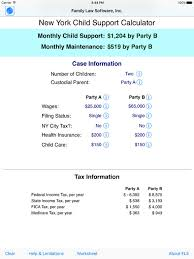 New York State Child Support Percentage Chart New York State Child Support Calculations Support