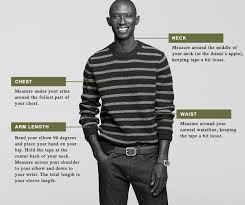 J Crew Men S Shirt Size Chart Clothing Size Charts Measurement Guide For Women Men